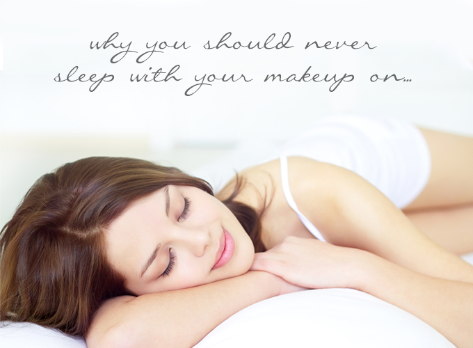 3 Reasons Why You Should Never Sleep With Your Makeup On | Yon-Ka Skin Care Blog